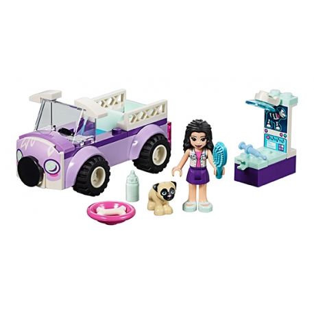 LEGO 41360 Emma a mobilní veterinární klinika