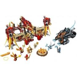 LEGO 70146 Létající ohnivý chrám Fénix
