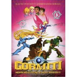 DVD Gormiti díl 3