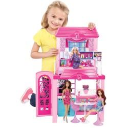 Barbie Prázdninový dům s panenkou