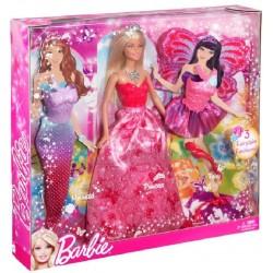 Barbie panenka a pohádkové převleky