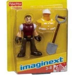 Figurka dělník Imaginext