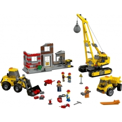 Lego 60076 Demoliční práce na staveništi