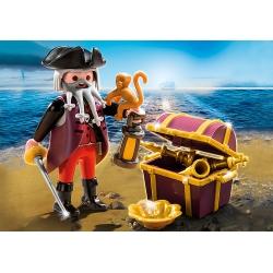 Pirát s pokladem