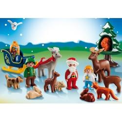 """Adventní kalendář 1.2.3 """"Vánoce v lese"""""""