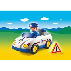 Policejní autíčko (1.2.3.)