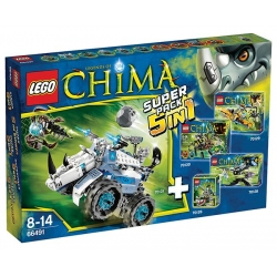 LEGO 66491 CHIMA Value Pack