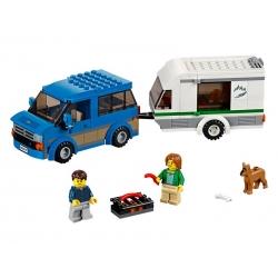 LEGO 60117 Dodávka a karavan