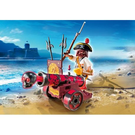 Mořský lupič s interaktivním červeným kanónem