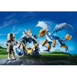 Přenosný box - Dračí rytíř s drakem