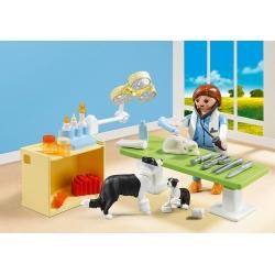 PLAYMOBIL 5653 Přenosný box - Návštěva u veterináře