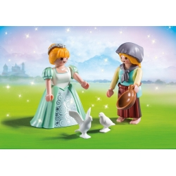 PLAYMOBIL 6843 Duo Pack Princezna s děvečkou