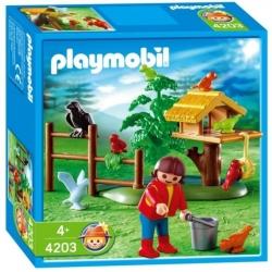 PLAYMOBIL 4203 Krmení ptáčků