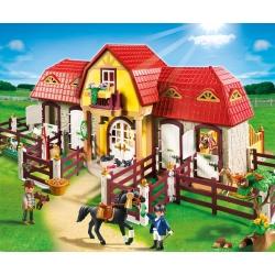 PLAYMOBIL5221 Velká koňská farma s výběhem