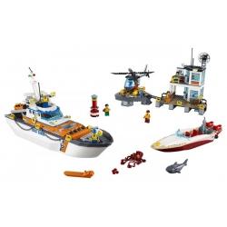 LEGO 60167 Základna pobřežní hlídky