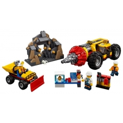 LEGO 60186 Důlní těžební stroj