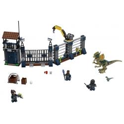 LEGO 75931 Útok Dilophosaura na hlídku