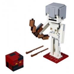 LEGO 21150 Minecraft velká figurka: Kostlivec s pekelným slizem